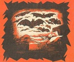 Nightmare (hagerstenguy) Tags: sleeping halloween night scary bat horror nightmare bats مرعب شبح رعب