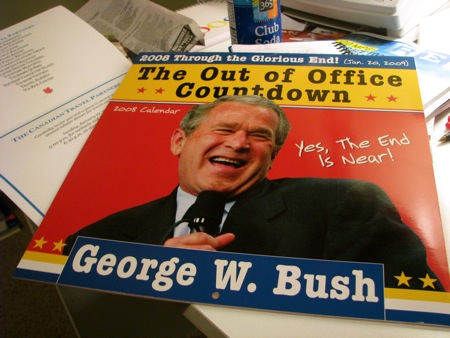 George W. Bush Countdown Calendar