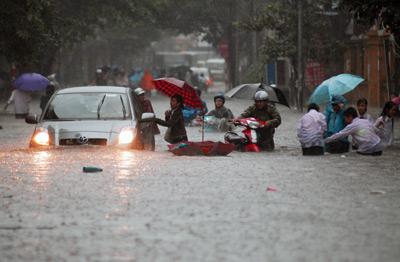 Hanoi, flooding