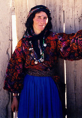 Sept 00 - Kurdish woman at Ghara Kelise, West Azerbayjan prov. (Best of Rob) Tags: beauty iran persia iranian kurdish kurd azerbayjan gharakelise