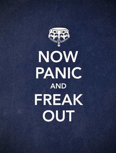 Panic / Olly Moss