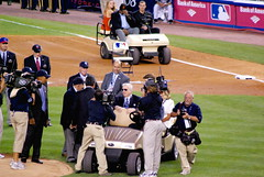 2008 MLB All-Star Game - George Steinbrenner i...