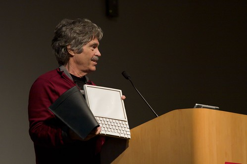 Alan Kay and the prototype of Dynabook