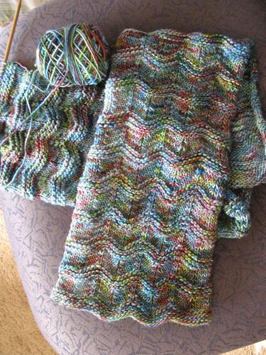 Grayce's scarf