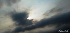 Dark Sky... (-Mohamed-) Tags: city sky urban tower glass skyscraper al noir cloudy kingdom ciel saudi arabia nuage riyadh moder riyad nuageux urbanisation nakheel arabie anoud saoudite