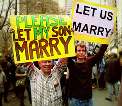 "NYC GAY RIGHTS PROTEST AGAINST PROP-8: ""The pride of a father"" (Sion Fullana) Tags: newyork peace photojournalism demonstration lesbians gaymarriage civilrights equalrights allrightsreserved equality gayrights homophobia gays beautifulboy proudfather fotoperiodismo emotionalphoto panasonicdmcfz50 cityhallnewyork younggayboy gaysandlesbians prop8 sionfullana californiagaymarriage proposition8 sionfullanasphotography proudfatherofgayson americaongaymarriage fatherandgayson straightpeoplesupportinggayrights touchingphoto pleaseletmysonmarry letusmarry sionfullana"