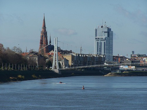 Osijek on the Drava River