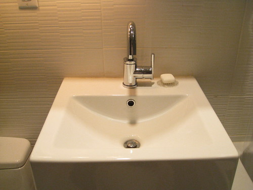 AFTER -- squeaky clean sink by tiboutoo.