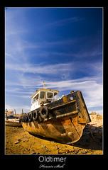 Oldtimer (Hussain Shah.) Tags: old blue sky port d50 boat nikon sigma oldtimer kuwait 1020mm polarizer doha shah hussain vosplusbellesphotos