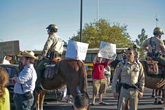 IMG_6652 Barack Obama Rally at Bonanza High School, Las Vegas (nabila4art) Tags: people lasvegas crowd huge barackobamarally bonanzahighschool