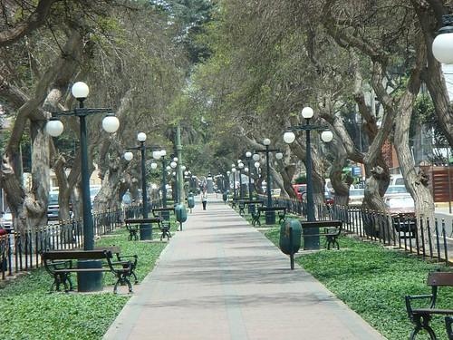 Miraflores boulevard...