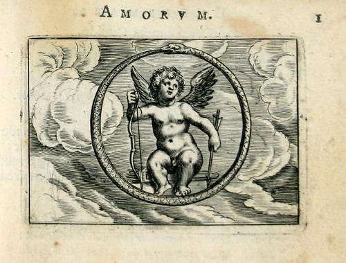 01 Amor aeternus-Cupido rodeado por Ouroboros la serpiente que se muerde la cola