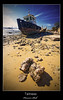 Tallness (Hussain Shah.) Tags: port d50 boat nikon bravo rocks sigma kuwait polarizer 1020 doha shah hussain tallness