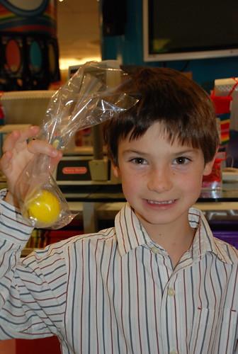 Big lemon gumball