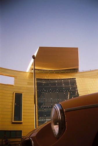 Colston Hall Extension & MG Midget