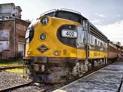 EMD F7(A) at Gettysburg (Sunset Sailor) Tags: railroad train gettysburg locomotive f7 emd f7a