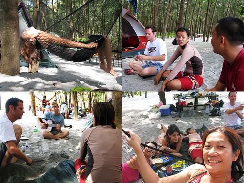 camping anawangin capones