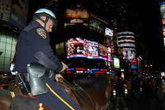 NYC_Nov08_1878 (Herve Boinay) Tags: camera nyc newyorkcity people horse usa ny newyork news black history broadcast television night america hope us tv election unitedstates african manhattan live president politics crowd broadway police nypd security screen victory presidential historic celebration midtown cnn stewart crew american timessquare fox change abc times network vote republican campaign 7th democrat obama 7thave mccain gop poll journalist colbert decision dailyshow cbs supporters ballot 7thavenue results colbertreport giantscreen