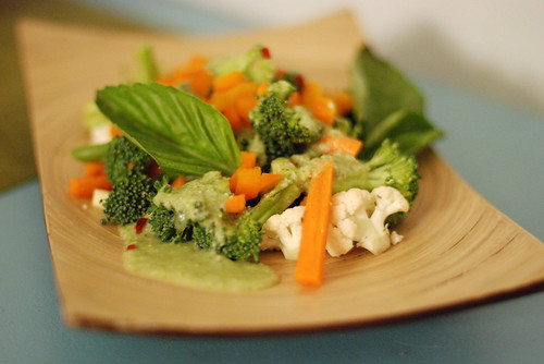 Raw Thai Green Curry