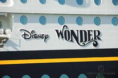 Disney Wonder Logo (thejeffreywscott) Tags: cruise vacation logo boat ship disney cruiseship disneywonder liner oceanliner cruiseliner portcanaveral disneyship disneyvacation oceanvoyage passengerliner seavoyage