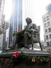 Statue of Horace Greeley by Elizabeth Thomsen, on Flickr