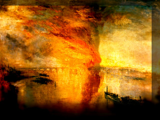 William Turner / Matices Incendiantes