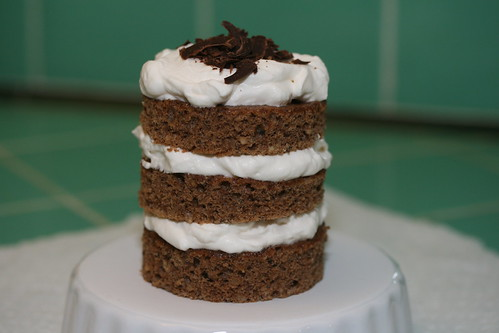 Chocolate-Hazelnut Nutcracker Cake