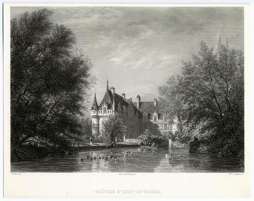 015- Castillo de Azay-le-rideau 1856