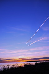 Sunset portrait Dragoer, Denmark (OrangUtanSam) Tags: sunset sky cloud clouds dragør skies copenhagenairport øresund dragoer redskies oeresund