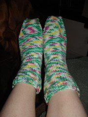 Socks for Mom done