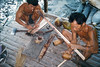 siberut 3 Making the arrows