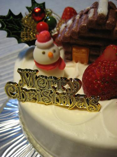 クリスマスケーキ2008 その1