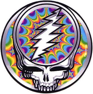 Grateful Dead Steal Your Face - fractal 3