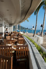 Ocean front dining at Ocean House at the Outrigger Reef on the Beach
