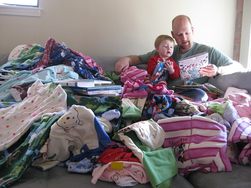 200 Pairs of Pajamas for Charity