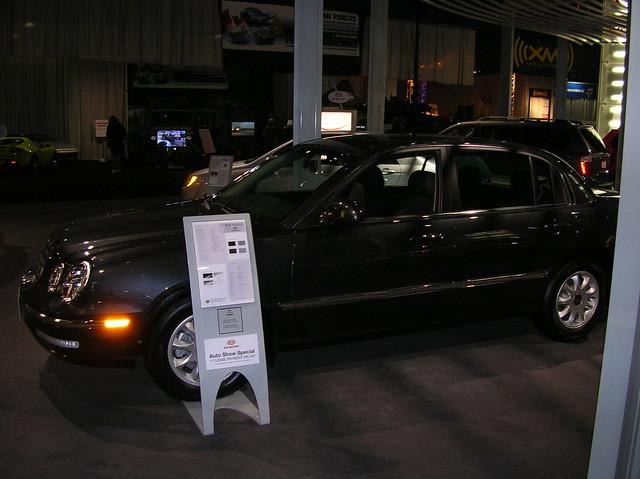 auto show toronto 2006 international kia amanti