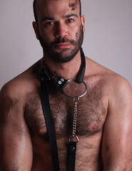 Daniel #12 (Fran Fatal) Tags: bear gay male home studio beard cub book daniel spanish macho barba pelo pecho grasa teatronegro bearswww