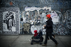 Treasury (patrickjoust) Tags: street new york city nyc family urban usa baby ny art america 35mm canon lens eos prime graffiti us nikon focus mural flickr carriage manhattan united soho treasury patrick 3a american adapter 5d f2 states msk manual nikkor joust 35 ai adek tko estados nekst adios unidos btm departmet 35mmf2ai lovelycity patrickjoust