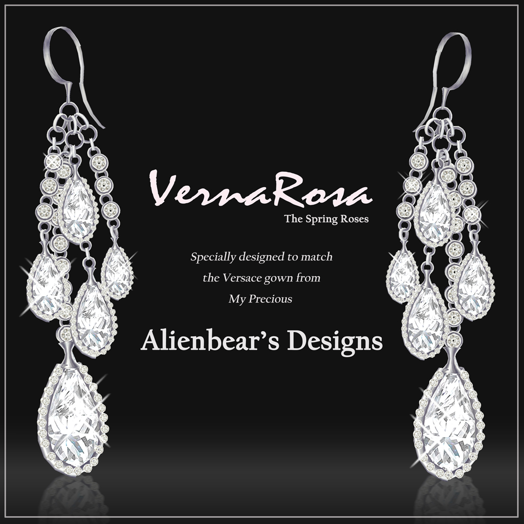 VernaRosa earrings white