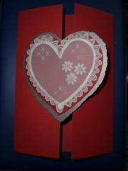 Parchment heart (Gregelope) Tags: flowers beautiful cards parchment textures papercraft