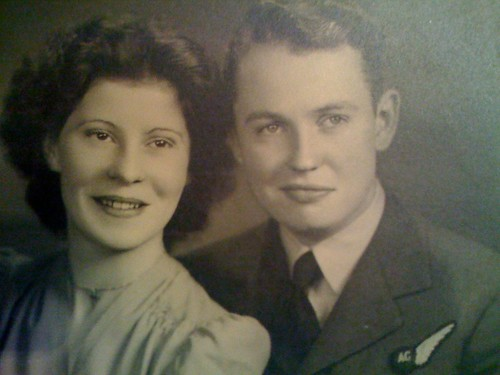 grandmom and grandad waldie
