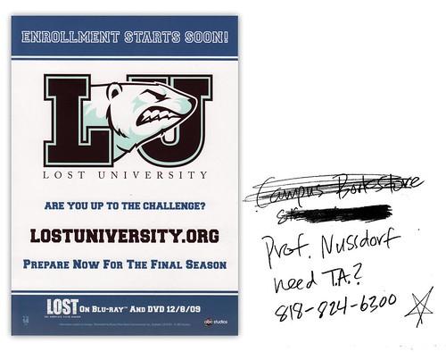 Lost University