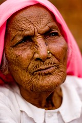 A hundred years of solitude! (niyatee) Tags: india girl rural women village agriculture haryana