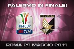 Palermo in finale! Banner finale Coppa Italia 2011
