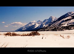 May snow (Stefano_in_SE_Idaho) Tags: blue trees sky snow mountains nature clouds canon river photo spring scenery forrest c may wyoming puffy picnik stefano 2011 thetetons rebelxti cowboystate ringexcellence stcphoto