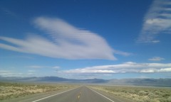 The Lonliest Road: US 50 in Nevada. Gives new perspective on population density.