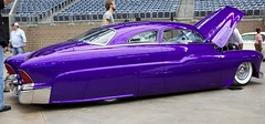 "1951 Merc Sweet Nadine"" (Bill Jacomet) Tags: purple mercury sweet 51 nadine lowrider coupe 1951 merc sweet"
