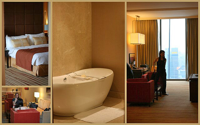 The Orchid Suite at Marina Bay Sands is huge and gorgeous