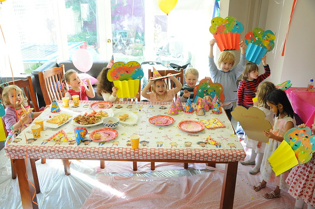 Poppy's Birthday Arty Party