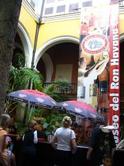 Havana Club蘭姆酒廠大廳